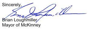 Mayors Signature